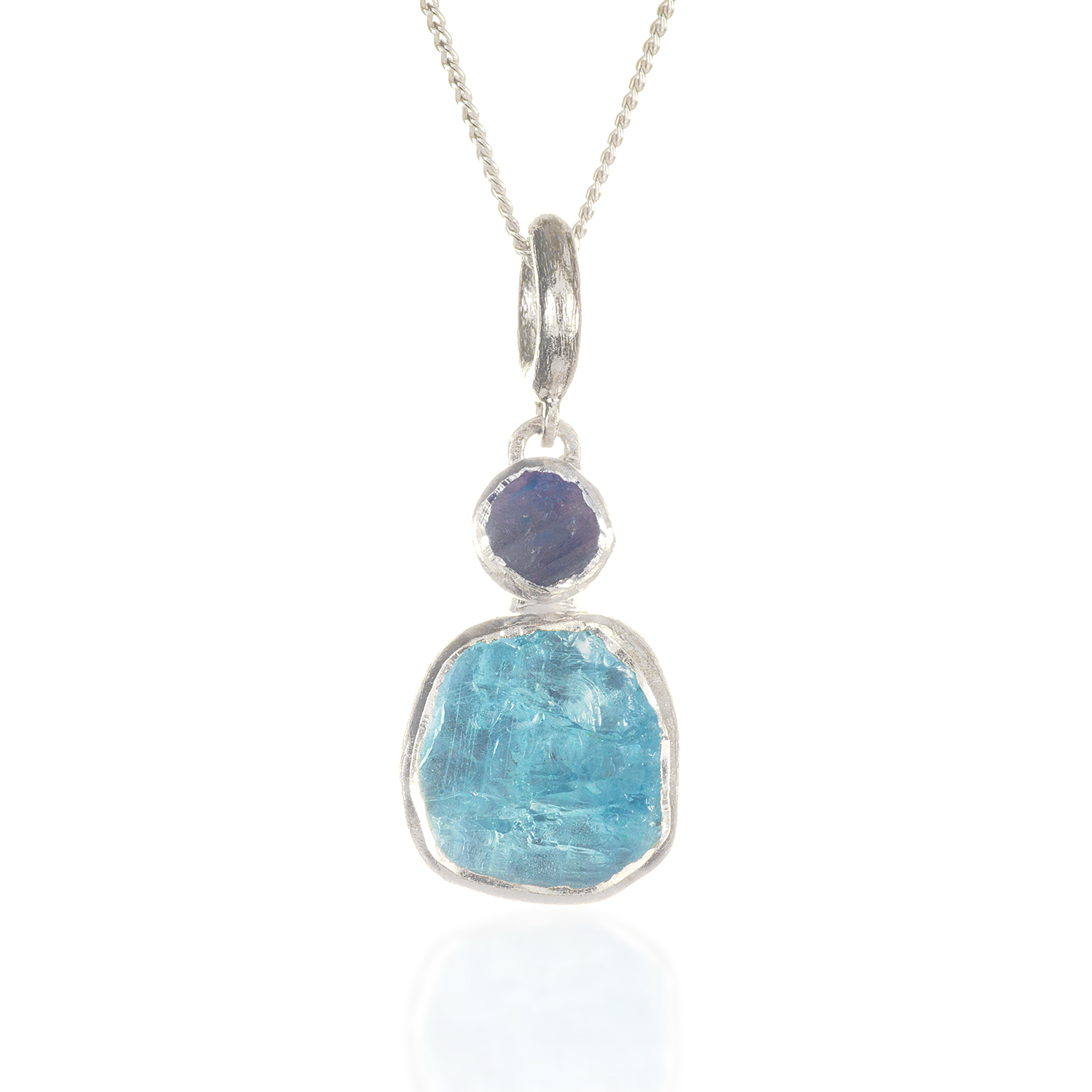 lumina aquamarine jewellery pendant shop