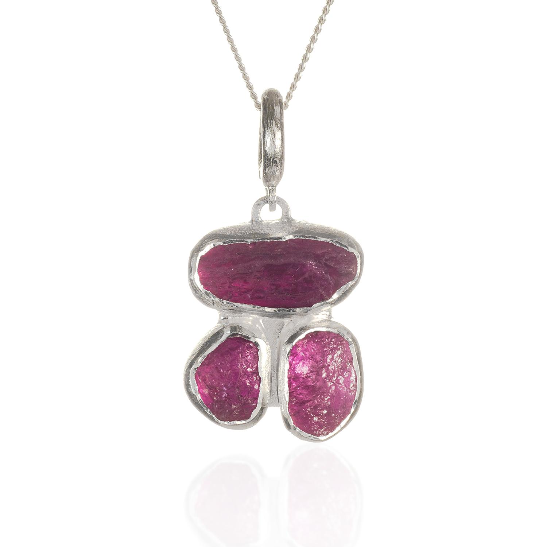 Peridot And Pink Tourmaline Rings