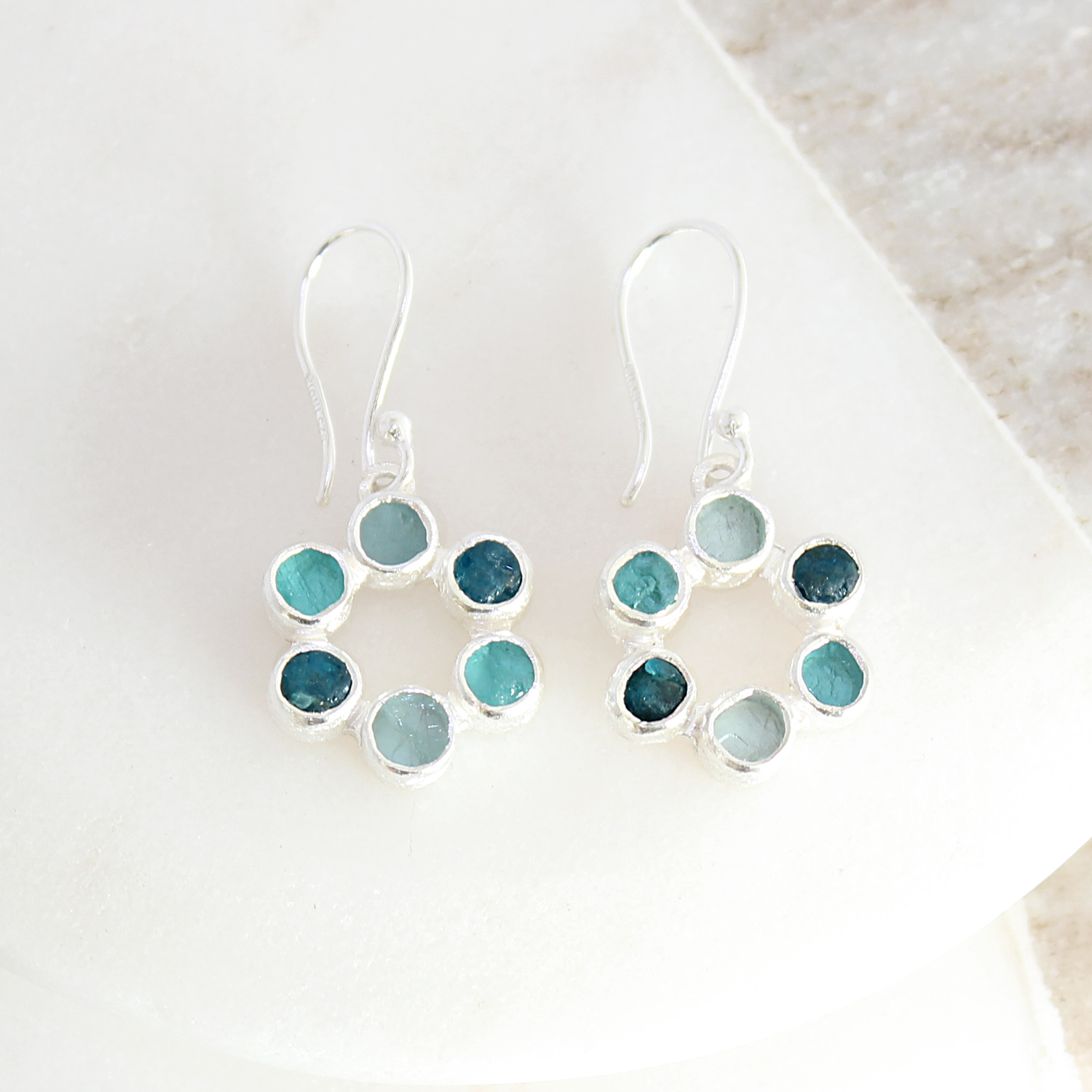 blue products jewelry neon apatite kvk earrings design bluestoneps
