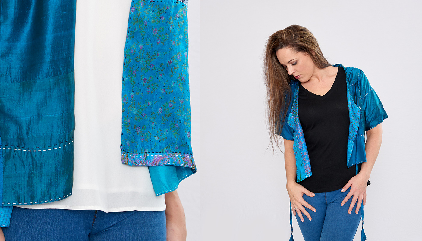 ethical silk clothing for women