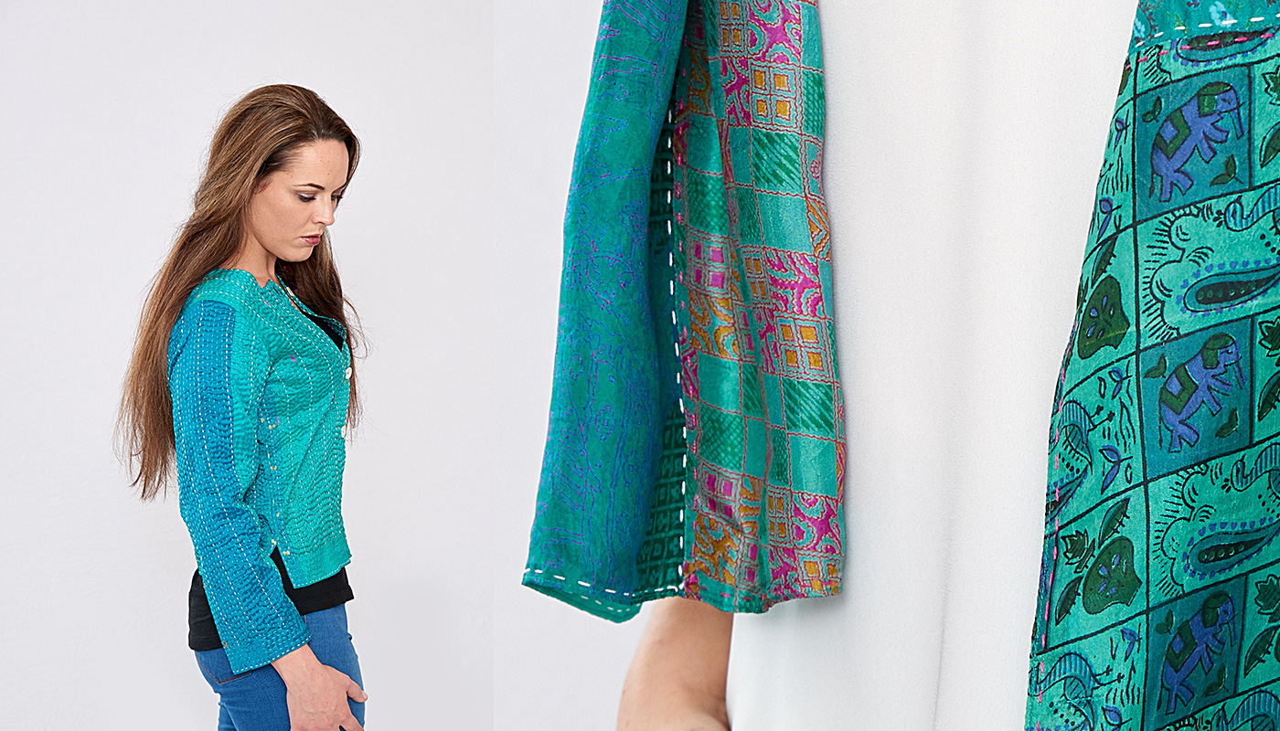 unique, ethical silk clothing for women